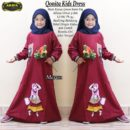 Qonita Kids Dress Marun